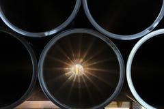 Plastic pipe Royalty Free Stock Photos