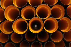 Plastic pipe Royalty Free Stock Images