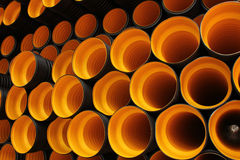 Plastic pipe Stock Images