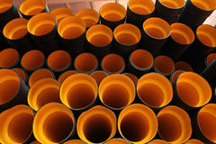 Plastic pipe Royalty Free Stock Photo