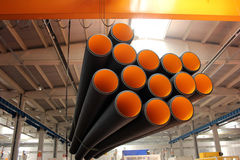 Plastic pipe Royalty Free Stock Image