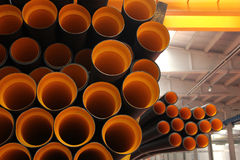 Plastic pipe Royalty Free Stock Photos
