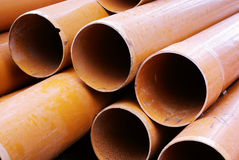 Plastic pipe Stock Photography