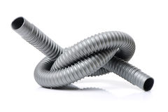 Plastic pipe and materials Stock Photos