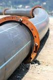 Plastic pipeline Royalty Free Stock Photos