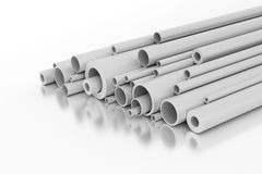 Plastic Pipes Stock Images