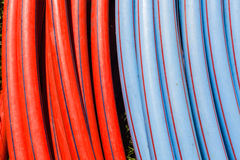 Plastic Pipes Colors IT Networking Stock Photos