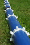 Plastic pipes for water Stock Image