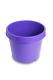 Plastic plant pot Royalty Free Stock Photo