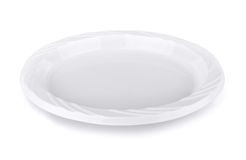 Plastic plate Royalty Free Stock Photo