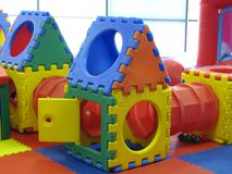 Plastic playground toy Stock Photography