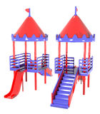Plastic playground two groups Stock Photography