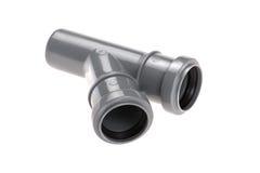 Plastic plumbing pipe Royalty Free Stock Image