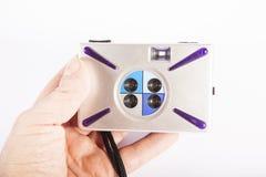 Plastic pocket camera Royalty Free Stock Photography