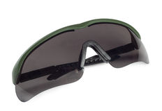 Plastic polarizing sunglasses Stock Image