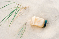 Plastic pollution Royalty Free Stock Images