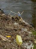 Plastic pollution Stock Photos
