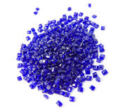 Plastic polymer granules Stock Photography