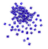 Plastic polymer granules Royalty Free Stock Photo