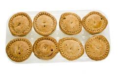plastic porkmagasin för pies Royaltyfri Foto