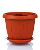 Plastic pot stock photography