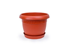 Plastic Pot for Flowers Royalty Free Stock Photography