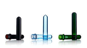 Plastic prefroms Royalty Free Stock Image