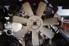 Plastic propeller engine Stock Photo