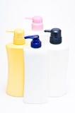 Plastic pump bottle Stock Photography