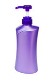 Plastic pump bottle Stock Photo