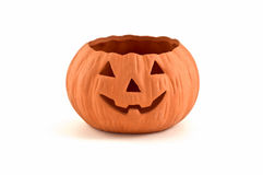 Plastic pumpkin Royalty Free Stock Photo