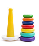 Plastic pyramid for children Royalty Free Stock Image