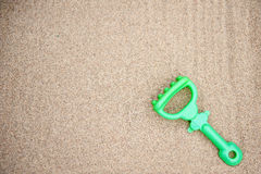 Plastic rake toy Royalty Free Stock Image