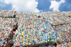plastic recycle Royalty Free Stock Photography