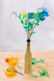 Plastic recycling Stock Afbeeldingen