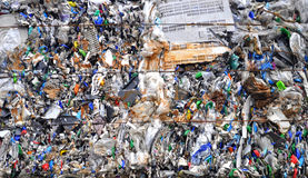 Plastic recycling Royalty Free Stock Photography