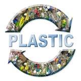plastic recycling ελεύθερη απεικόνιση δικαιώματος