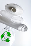 Plastic recycling Stock Foto's