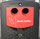 Plastic Recycling Bank Royalty Free Stock Photo