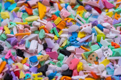 Plastic regrind Royalty Free Stock Photography