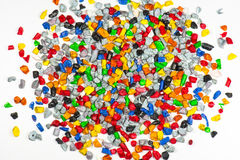 Plastic regrind Royalty Free Stock Photo