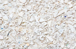 Plastic resin pellets background Royalty Free Stock Photo