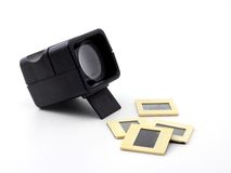 Plastic retro slide viewer Royalty Free Stock Photo
