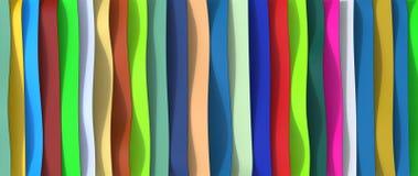 Plastic riemenachtergrond Royalty-vrije Stock Afbeelding
