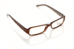 Plastic-rimmed eyeglasses Stock Images