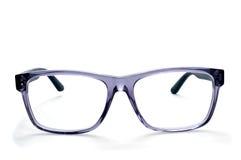 Plastic rimmed eyeglasses Royalty Free Stock Image