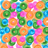 Plastic rings backgrounds Royalty Free Stock Photos