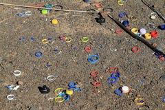 Plastic Rings Stock Image