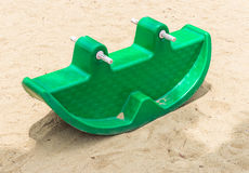 Plastic rocking toy Stock Photography