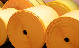 Plastic rolls Royalty Free Stock Photos